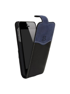 Кожаный чехол для iPhone 5/5S/SE Burkley FlipCaseCC Burkley