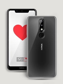 Чехол для Nokia 5.1 Plus Case Place