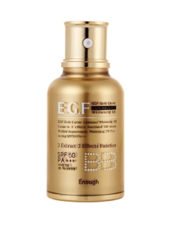 BB крем EGF Gold Caviar Luminous Whitening,SPF 50 PA+++, 45 мл ENOUGH