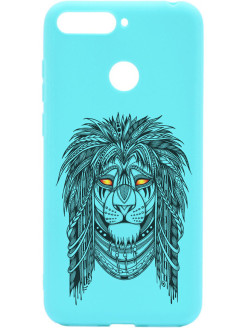 Чехол Soft Touch Art Grand Leo для Huawei Honor 7C / 7A Pro / Y6 Prime (2018) GOSSO CASES