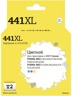 Картридж T2 IC-CCL441XL (CL-441 XL) T2