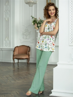Meadow Floral Trousers Mia Cara