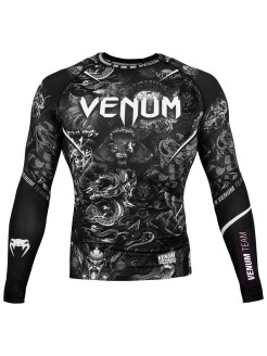 Рашгард Art Black/White L/S Venum
