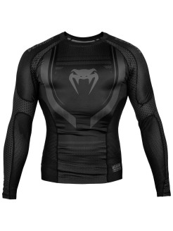 Рашгард Technical 2.0 Black/Black L/S Venum