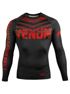 Рашгард Signature Black/Red L/S Venum