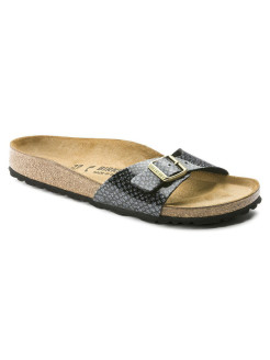Биркенштоки Madrid BF Magic Snake Black Narrow BIRKENSTOCK