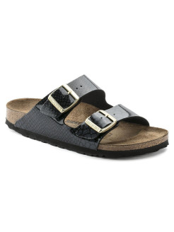 Биркенштоки Arizona BF Magic Snake Black Narrow BIRKENSTOCK