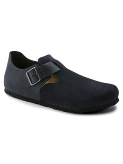 Полуботинки London FL/VL Night Blue Regular BIRKENSTOCK