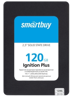 "SSD-накопитель Ignition PLUS 120Gb, 2.5"" Smartbuy"