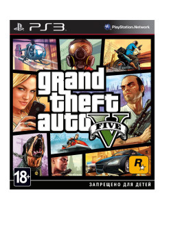 Grand Theft Auto V [PS3, русские субтитры] Take 2 Interactive