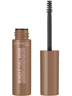 Тушь для бровей Wonder Full Brow, Тон 001 Rimmel