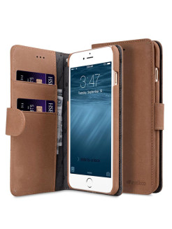 Кожаный чехол книжка Melkco Apple для iPhone 7 Plus/8 Plus - Wallet Book Type Melkco