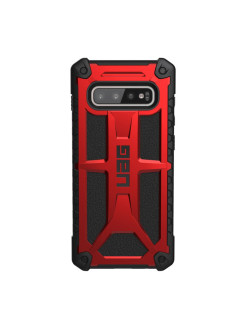 Protective UAG Monarch Case for Samsung Galaxy S10 Plus color red UAG