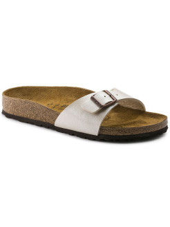 Биркенштоки Madrid BF Graceful Pearl White Narrow BIRKENSTOCK