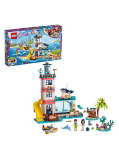 Designer LEGO Friends 41380 Rescue Center at the lighthouse LEGO