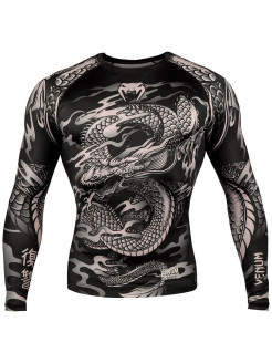 Рашгард Dragon's Flight Black/Sand L/S Venum
