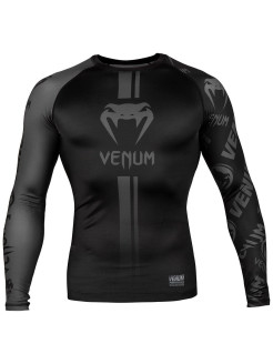 Рашгард Logos Black/Grey L/S Venum