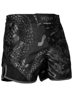 Шорты ММА Dragon's Flight Black/Black Venum