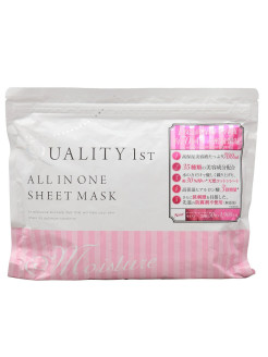 All in one sheet mask moist 50 - ультраувлажняющая маска all in one 50 Quality First