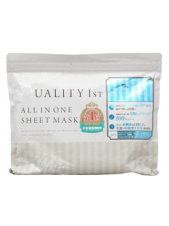 All in one sheet mask white 30 - увлажняющая выравнивающая цвет кожи лица маска all in one 30 Quality First