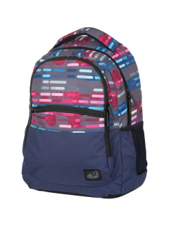 Рюкзак Base Classic Lines Blue Pink. Walker
