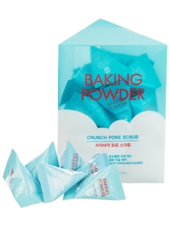 Скраб для очищения пор с содой Baking Powder Crunch Pore Scrub, 7 g x 24 шт Etude House