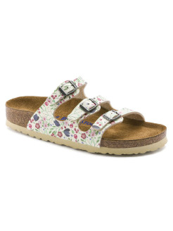 Сандалии Florida SFB BFDD Meadow Flowers Beige Regular BIRKENSTOCK