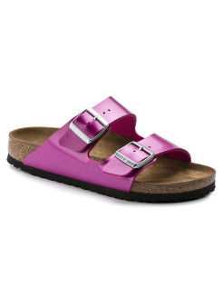 Биркенштоки Arizona BF Electric Metallic Magenta Regular BIRKENSTOCK