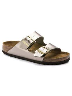 Биркенштоки Arizona BF Electric Metallic Taupe Regular BIRKENSTOCK
