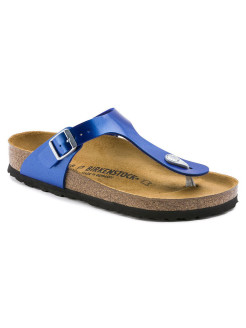 Пантолеты Gizeh BF Electric Metallic Ocean Regular BIRKENSTOCK