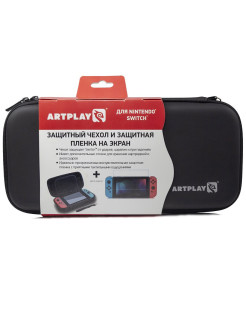 Case, protective film, strap overlays Artplays for Nintendo Switch Artplays