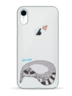 Чехол - case iPhone XR (Айфон ХР) Transperency Pump