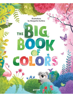 English Books. Clever Big Books: Big Book of Colors Издательство CLEVER