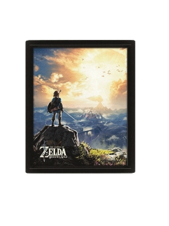 Постер 3D Pyramid: Nintendo: The Legend Of Zelda (Sunset) EPPLA79967 Pyramid International