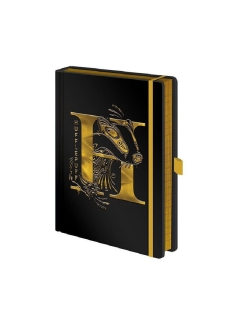 Ежедневник Pyramid: Harry Potter (Hufflepuff Foil) Premium A5 Notebooks SR72694 Pyramid International