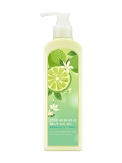 Лосьон для тела Love Me Bubble Body Lotion Bergamot Citrus NATURE REPUBLIC
