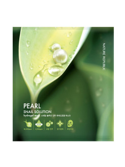 Гидро-гелевая маска Solution Hydro Gel Mask PEARL NATURE REPUBLIC