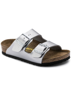 Биркенштоки Arizona Kids BF Silver Regular BIRKENSTOCK