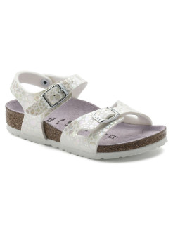 Сандалии Rio Kids MF Metallic Stones White Regular BIRKENSTOCK