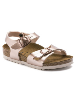 Сандалии Rio Kids BF Electric Metallic Copper Narrow BIRKENSTOCK