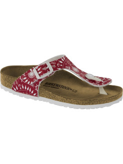 Пантолеты Gizeh Kids BFDD Nautical Print Red Regular BIRKENSTOCK