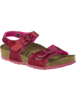 Сандалии Rio Kids MF Hologram Pink Regular BIRKENSTOCK