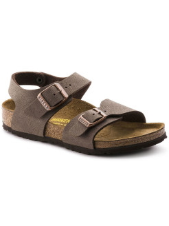 Сандалии New York Kids BF Nubuck Mocha Narrow BIRKENSTOCK
