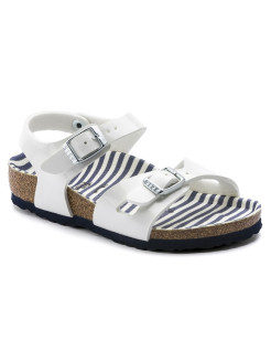Сандалии Rio Kids BF Nautical Stripes White Narrow BIRKENSTOCK