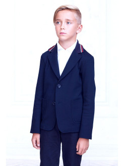 Blazer, breathable material, single breasted btc