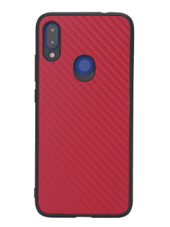 G-Case Carbon Cover for Xiaomi Redmi Note 7 / Note 7 Pro, Red G-Case