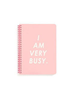 Маленькая тетрадь ban.do - I Am Very Busy (Pink) ban.do