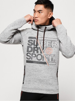 Худи CORE GYM TECH STRTCH GRPHC OVERHEAD Superdry