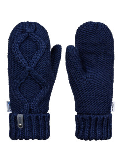 Mittens, logo, insulated, knitted ROXY