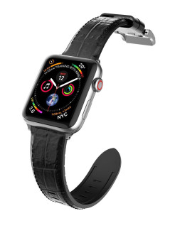 Hybrid Leather Watch Strap for Apple Watch 38/40 mm x-doria